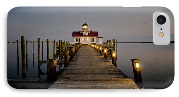 IPhone Case featuring the photograph Roanoke Marshes Lighthouse by David Sutton