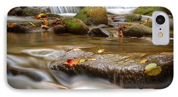 Roaring Fork Stream Great Smoky Mountains Phone Case by Steve Gadomski