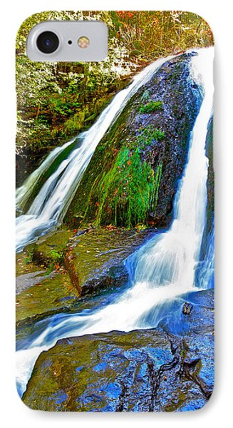 Roaring Run Falls State Park Virginia IPhone Case by The American Shutterbug Society