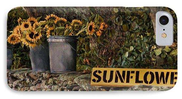 IPhone Case featuring the photograph Roadside Sunshine by Robin-Lee Vieira