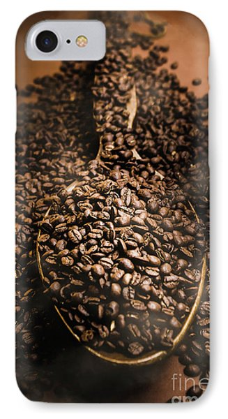 Roasting Coffee Bean Brew IPhone Case by Jorgo Photography - Wall Art Gallery