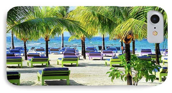 Roatan Island Resort IPhone Case