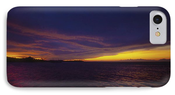Roatan Sunset IPhone Case by Stephen Anderson