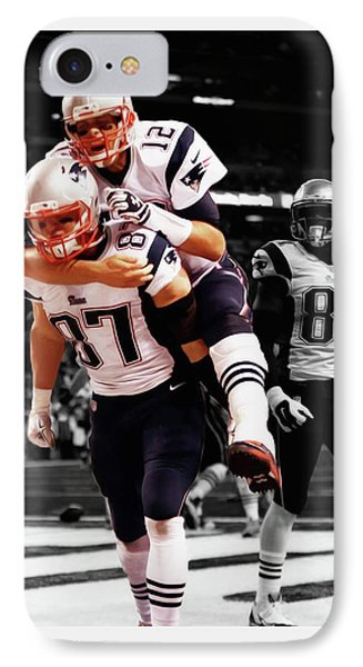 Rob Gronkowski And Tom Brady IPhone Case