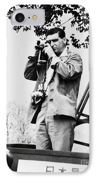 Robert Capa (1913-1954) Phone Case by Granger