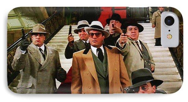 Robert De Niro As Al Capone The Untouchables Publicity Photo 1987 IPhone Case