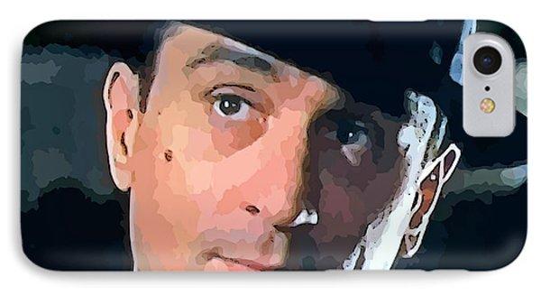 Robert De Niro IPhone Case by John Malone