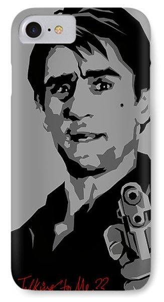 Robert De Niro IPhone Case by Kunal Kundu