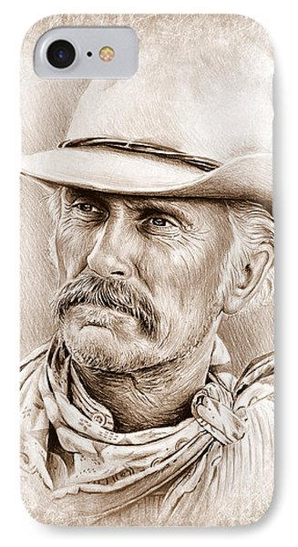Robert Duvall  The Western Collection IPhone Case by Andrew Read