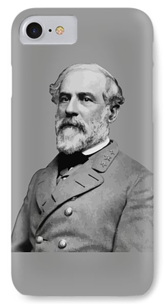 Robert E Lee - Confederate General IPhone Case by War Is Hell Store