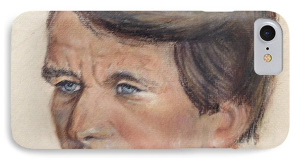IPhone Case featuring the painting Robert Kennedy by Anthony Ross