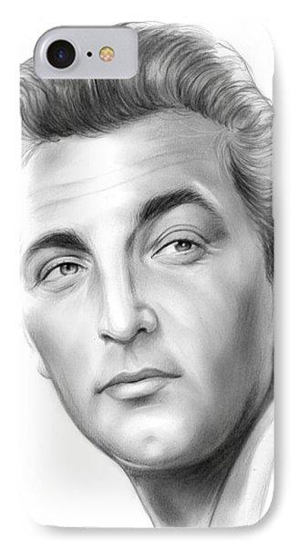 Robert Mitchum IPhone Case by Greg Joens