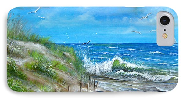 Robert Moses Beach IPhone Case by Patrice Torrillo