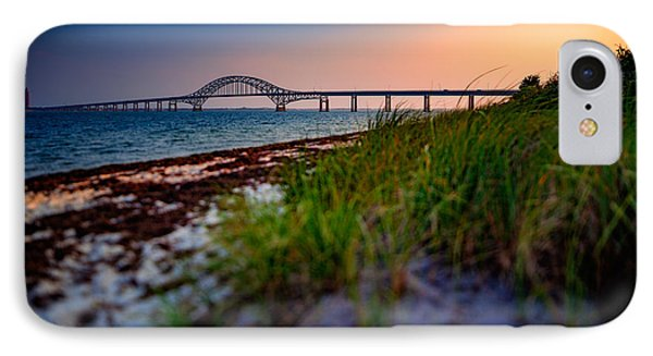 Robert Moses Causeway IPhone Case by Rick Berk