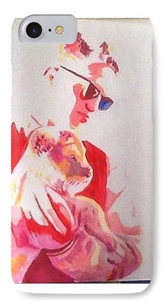 Robert Pattinson 311 IPhone Case by Audrey Pollitt