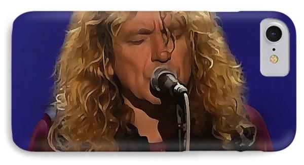 Robert Plant 001 IPhone Case by Sergey Lukashin