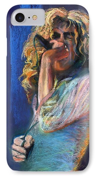 Musicians iPhone 7 Case - Robert Plant by Laurie VanBalen