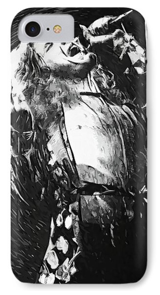 Robert Plant IPhone Case by Taylan Apukovska