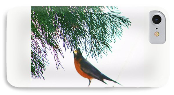 IPhone Case featuring the photograph Robin 2 by Lenore Senior