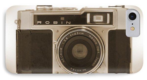Robin 35mm Rangefinder Camera IPhone Case