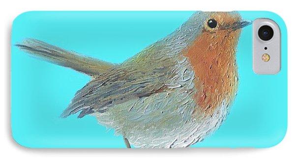 Robin Bird IPhone Case by Jan Matson
