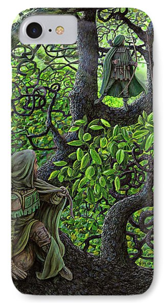 Robin Hood IPhone Case by Dave Luebbert