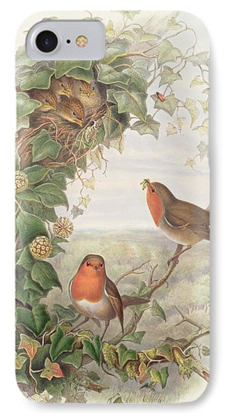 Robin IPhone 7 Case by John Gould