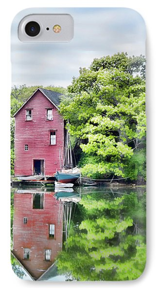 IPhone Case featuring the photograph Robinhood Cove by Richard Bean