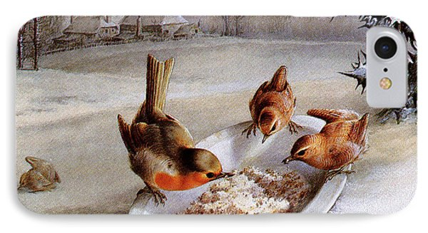 Robins And Wrens  Winter Breakfast IPhone 7 Case