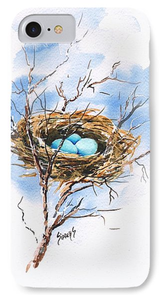 Robin's Nest IPhone Case by Sam Sidders
