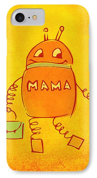 Robomama IPhone Case