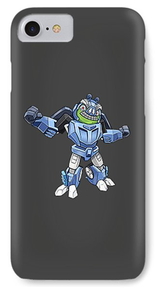 I Robot T-shirt IPhone Case by Herb Strobino
