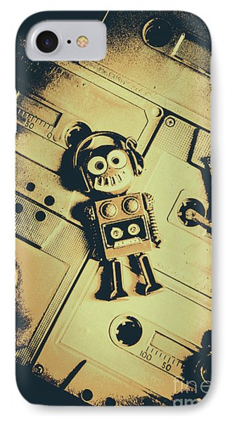 Robotic Trance IPhone Case by Jorgo Photography - Wall Art Gallery