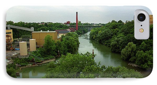 Rochester, Ny - Genesee River 2005 IPhone Case by Frank Romeo