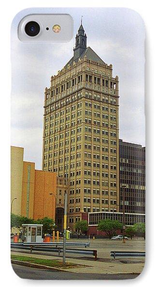 Rochester, Ny - Kodak Building 2005 IPhone Case by Frank Romeo