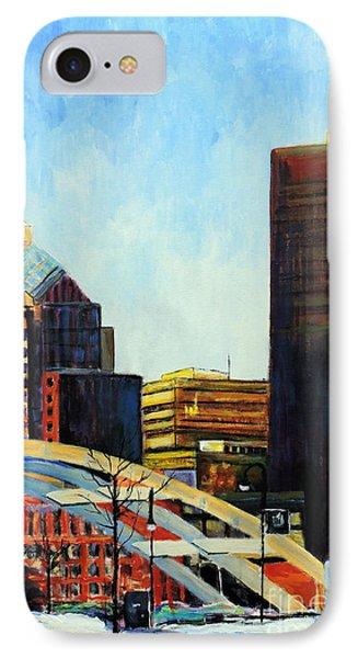 Rochester New York Late Winter IPhone Case