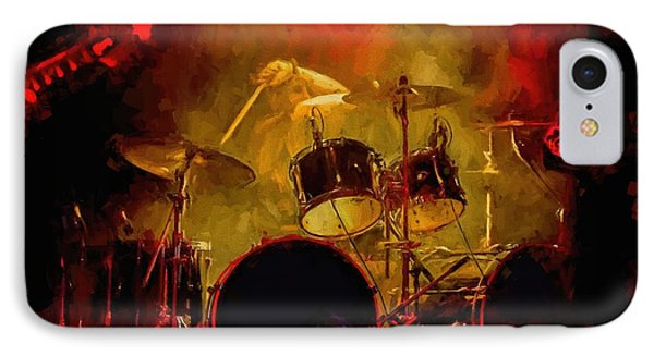 Rock And Roll Drum Solo IPhone Case