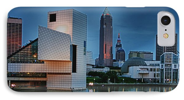 Rock And Roll Hall Of Fame And Museum Phone Case by Richard Gregurich