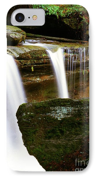 Rock And Waterfall Phone Case by Thomas R Fletcher