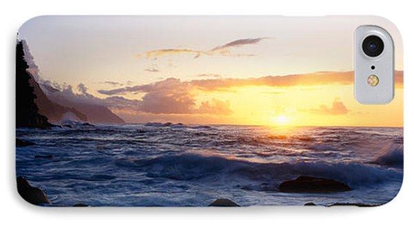 Rock At The Coast, Na Pali Coast IPhone Case