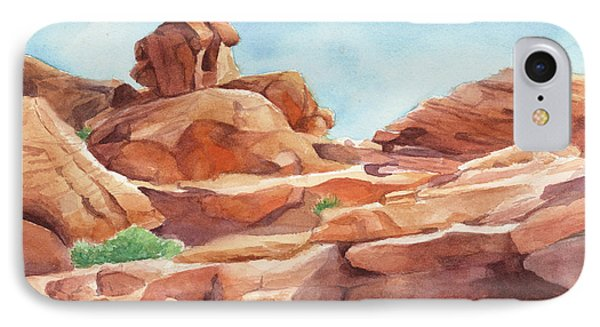 Rock Away IPhone Case by Sandy Fisher
