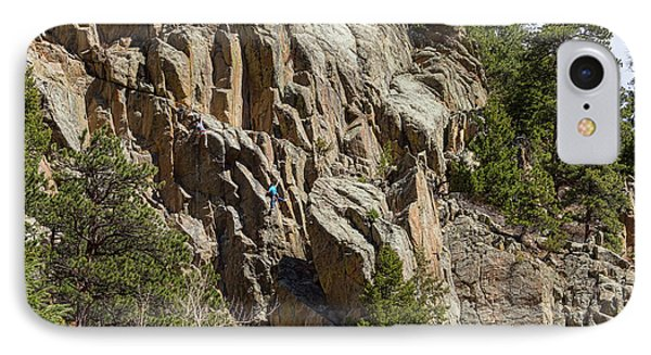 IPhone Case featuring the photograph Rock Climbers Paradise by James BO Insogna