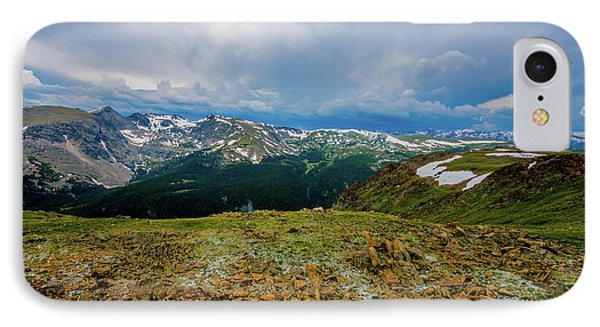 IPhone Case featuring the photograph Rock Cut 2 - Trail Ridge Road by Tom Potter