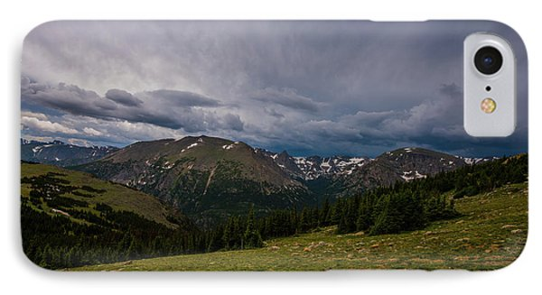 IPhone Case featuring the photograph Rock Cut 3 - Trail Ridge Road by Tom Potter
