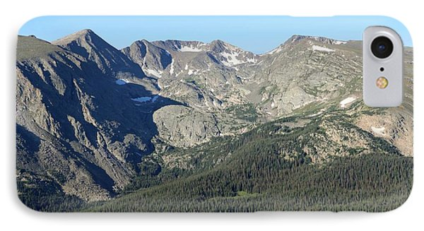 Rock Cut - Rocky Mountain National Park IPhone Case by Pamela Critchlow