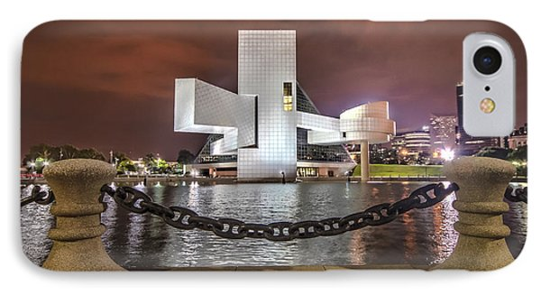 Rock Hall And The North Coast IPhone Case by Brent Durken