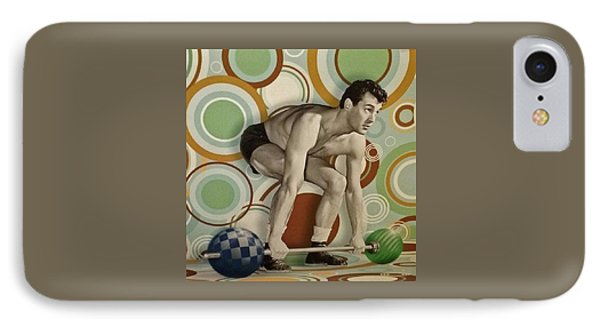 Rock Hudson The Athelete IPhone Case by Jay Milo