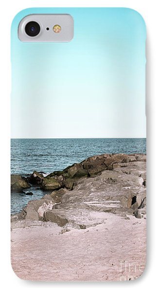 IPhone Case featuring the photograph Rock Jetty by Colleen Kammerer