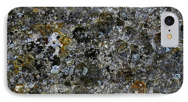 Rock Lichen Surface IPhone 7 Case by Nareeta Martin
