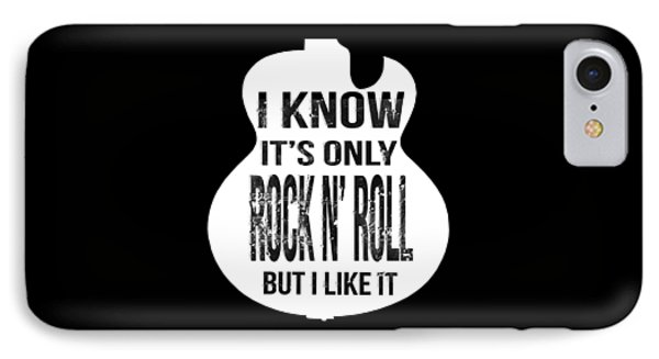 Rock N Roll For Tees IPhone Case